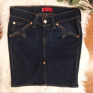Levi's Type 1 Western Denim Skirt